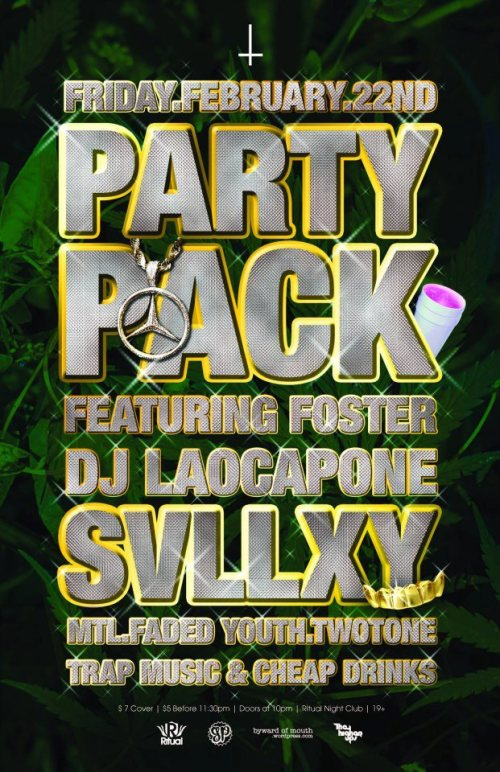 PARTY PACK FEBRUARY ****DJ SVLLXY (TWO.TONE X FADED.YOUTH)****