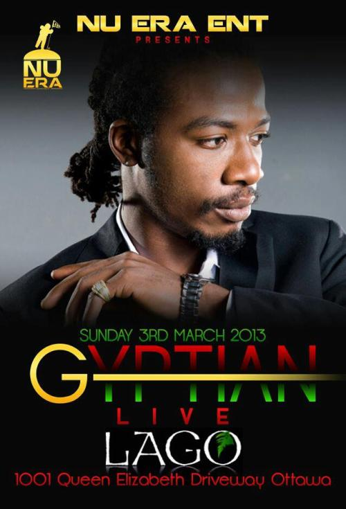 GYPTIAN LIVE at LAGO