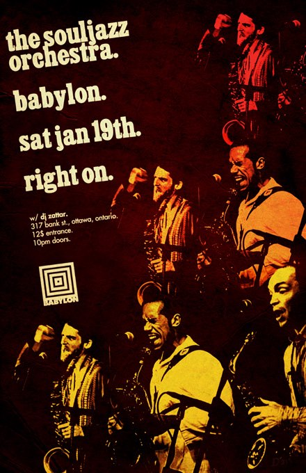 The Souljazz Orchestra @ Babylon