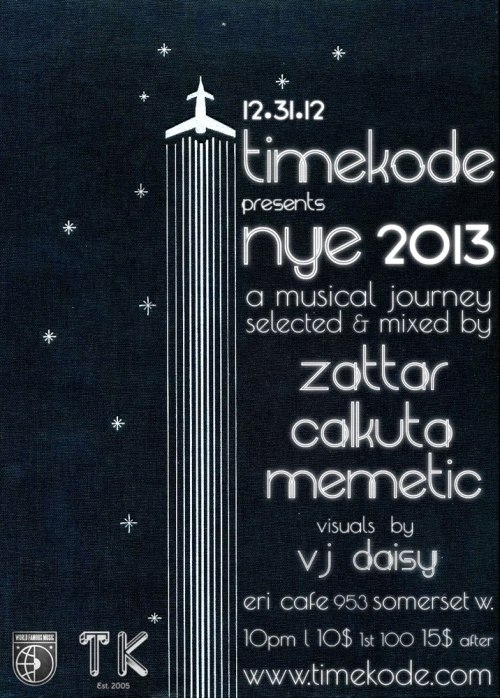 TIMEKODE presents NYE 2013