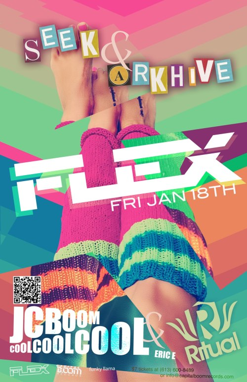 ★ FLEX FRIDAY w/ SEEK & ARKHIVE ★JC BooM! Coolcoolcool & Eric E ★ OFFICIAL LAUNCH ★ JAN 18 @ Ritual ★