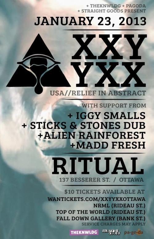 XXYYXX at Ritual // January 23, 2013