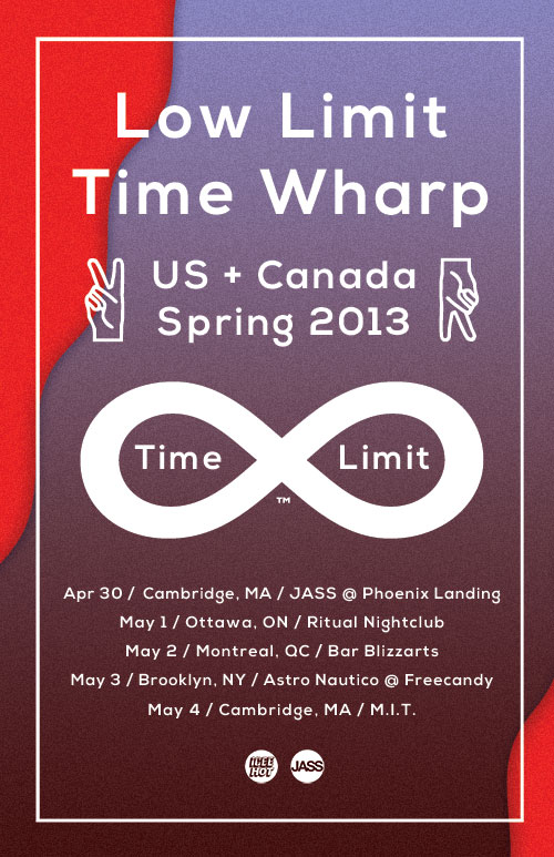 LOW LIMIT + TIME WHARP at RITUAL // MAY 1, 2013