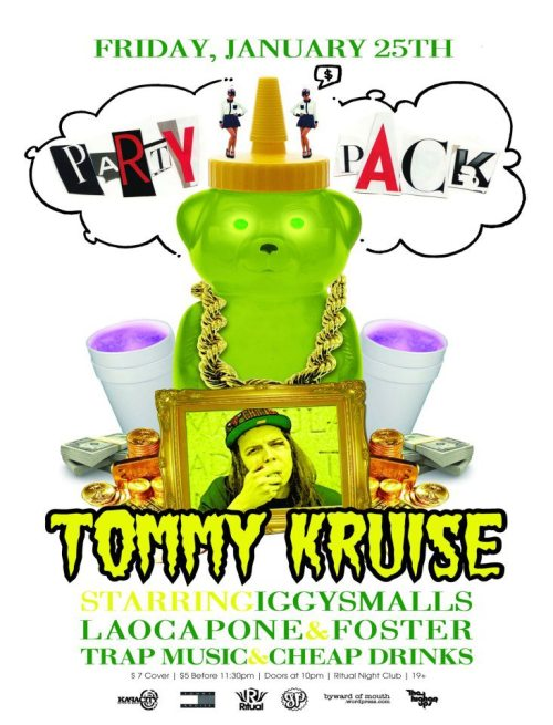 PARTY PACK JANUARY***TOMMY KRUISE****2 YEAR ANNIVERSARY