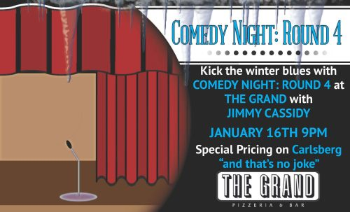 The Grand Presents Comedy Night Round 4
