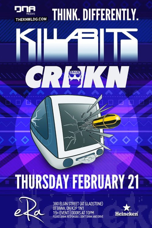 THE KILLABITS + CRNKN at Era (Ottawa) // February 21, 2013