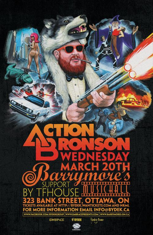 ACTION BRONSON at BARRYMORE'S- MARCH 20