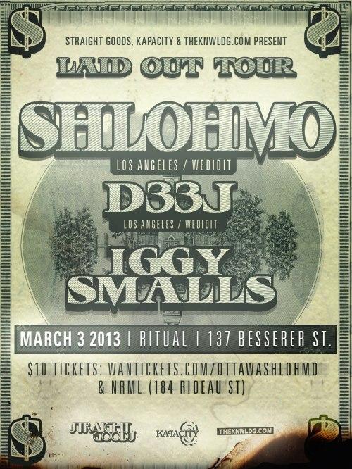 SHLOHMO (LIVE) + D33J (LA) | Mar 3 @ Ritual