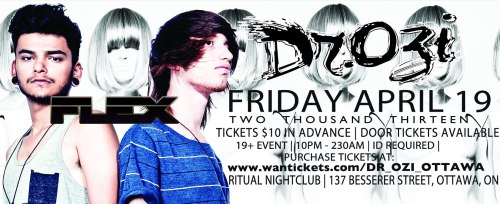 ★FLEX FRIDAY w/ DR. OZI (BUYGORE) ★ April 19 @ Ritual ★