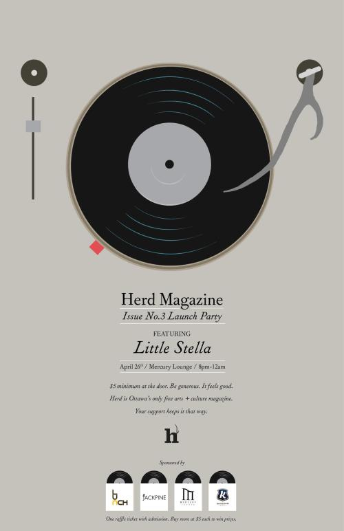 Herd Magazine Issue 03 Launch Party w/ Little Stella + more!