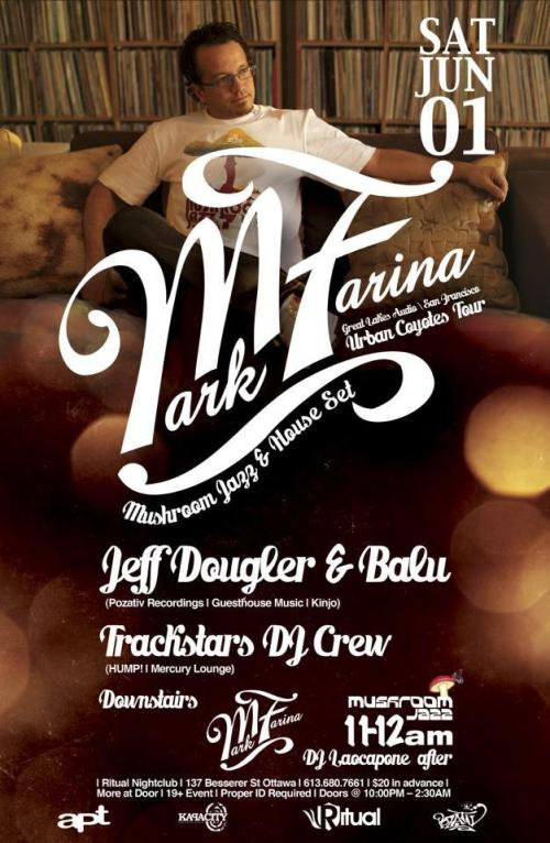 MARK FARINA (San Francisco) | Sat, June 1, 2013 | RITUAL
