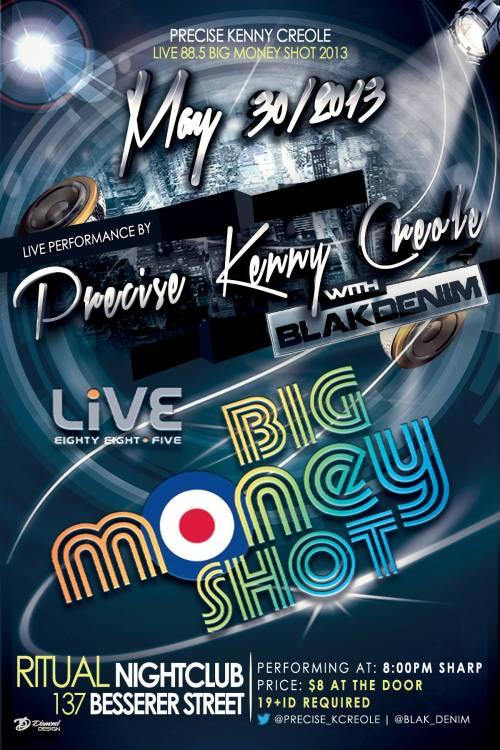 LiVE 88.5 Big Money Shot...8:00PM SHOWTIME!!